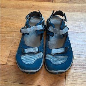 Merrill Unifly Vibram Slingback Trail Shoes